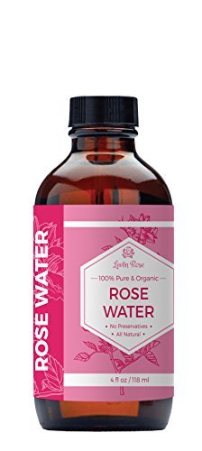 1 TRUSTED Rose Water 100 Organic Natural Moroccan Rosewater Chemical Free 4 Oz 0 0