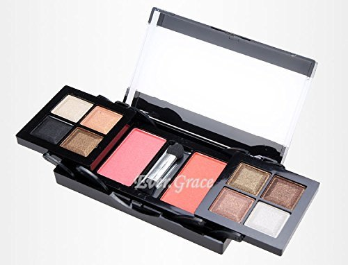 10 Colors Makeup Palette Eyeshadow Natural Warm Smoky Eye Shadow Powder Blusher 0 0