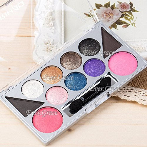 11 Colors Makeup Eyeshadow Eyebrow Powder Blusher Eye Shadow Eye Brow Blush Nude