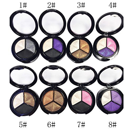 3 Colors Makeup Naked Eyeshadow Palette Smoky Cosmetic Set Professional Natural Matte Eye Shadow Palette Make Up Glitter 0 0