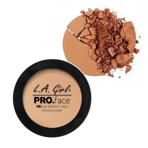 3 Pack LA GIRL PRO Face Powder Warm Caramel 0