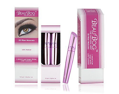 3d Fiber Eyelash Mascara, Get Thicker, Longer And More Beautiful Eyelashes With Revolutionary 3d Fiber – 100% Natural – Easy And Quick Enhancement