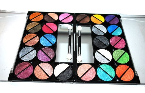 48 Splashing Paint Design Color Eyeshadow Makeup Kit Palette