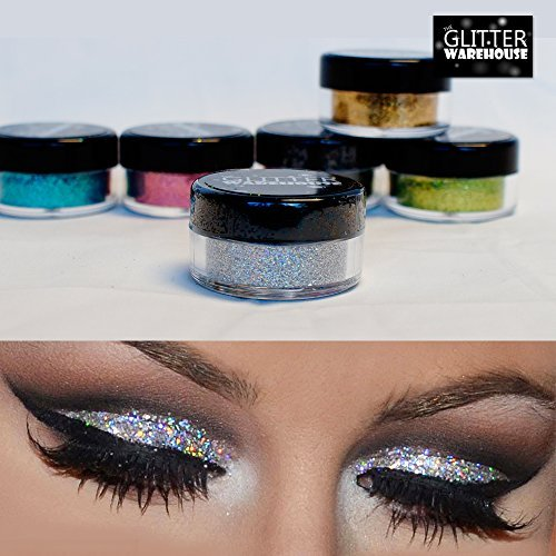 4pc GlitterWarehouse Loose Glitter Powder for Eyeshadow Body Art + ...