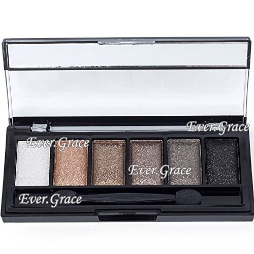 6 Colors Makeup Nautural Warm Eyeshadow Palette Nude Eye Shadow Cosmetics Smokey 0 0