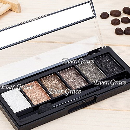 6 Colors Makeup Nautural Warm Eyeshadow Palette Nude Eye Shadow Cosmetics Smokey
