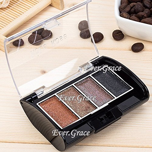 6 Colors Shimmer Eyeshadow Eyebrow Powder Palette Eye Shadow Brow Neutral Warm 0 0