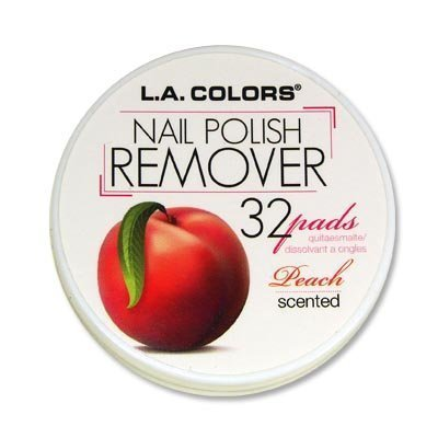 6 LA Colors Nail Polish Remover Pads Aceton Free Fruit Scent 6 Different Ones Total 199 PADSs 0 0