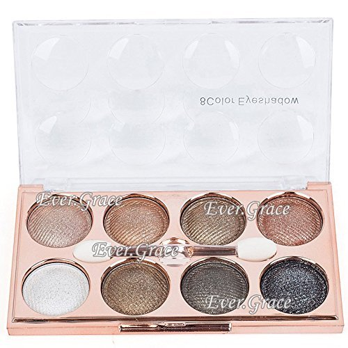 6 Luxury Color Makeup Nude Eyeshadow Palette Glitter Warm Eye Shadow White Smoky 0 0