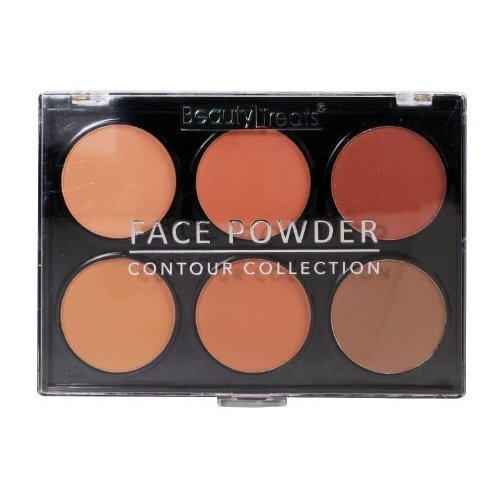 (3 Pack) BEAUTY TREATS Face Powder – Contour Collection – Dark