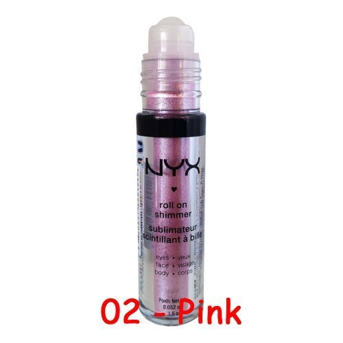 6 Pick Any Colors You Like NYX Roll On Eye Shimmer For Eyes Face Body 0 0
