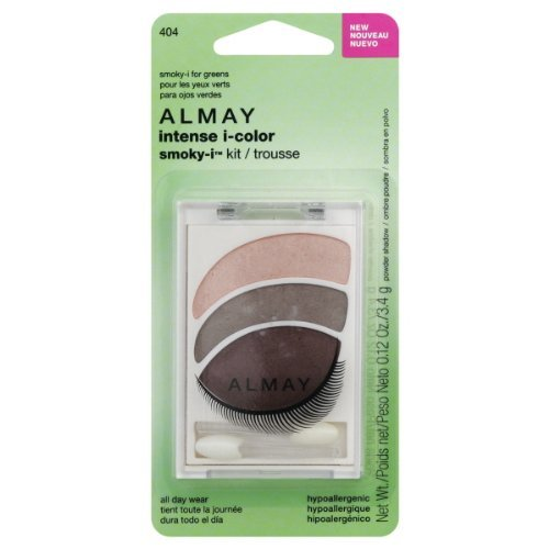 Almay Intense I-Color Smoky-i Powder Shadow Kit, Smoky-i For Greens