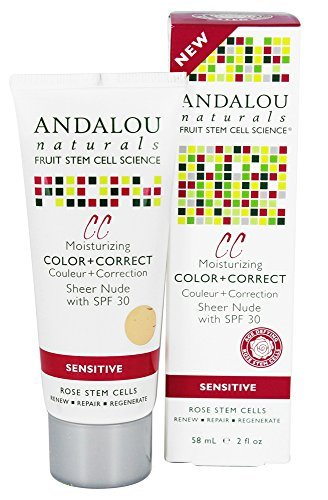 Andalou Naturals – 1000 Roses Color + Correct With Rose Stem Cells Sheer Nude 30