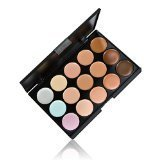 Anself 15 Color Cream Camouflage Concealers Palette Eye Face Cosmetic Makeup Earth Tone