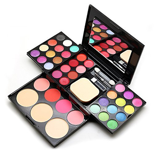 Aoohe Makeup Palette 39 Colors Eyeshadow With Eye Primer Luminous Eye Shadow Palette Band Makeup Cosmetics 0 0