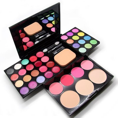 Aoohe Makeup Palette 39 Colors Eyeshadow With Eye Primer Luminous Eye Shadow Palette Band Makeup Cosmetics