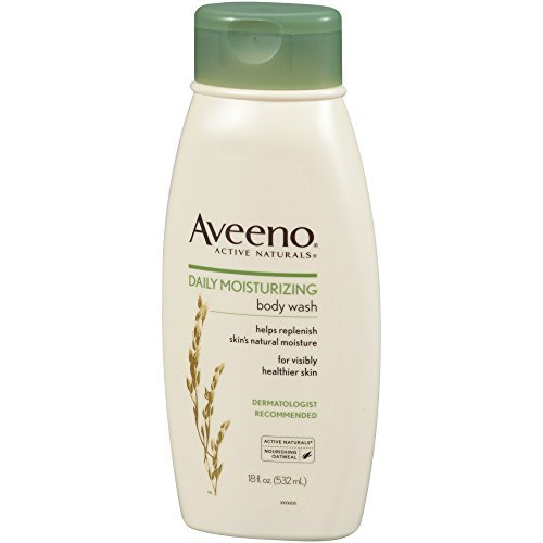 Aveeno Active Naturals Daily Moisturizing Body Wash With Natural Oatmeal 18 Ounce 0 0