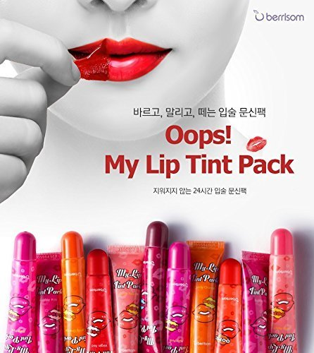 Berrisom Oops My Lip Tint Pack, 1piece 15g, 2015 F/w NEW Color Dear Coral