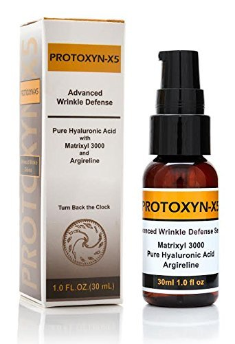 Botox Alternative:hyaluronic Acid,15% Matrixyl 3000, 20% Argireline,5 % Vitamin C,repair, Boost Collagen, 1oz Serum