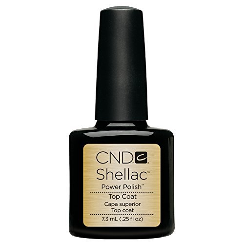 CND Shellac Color Coat With UV3 Technology, Top Coat