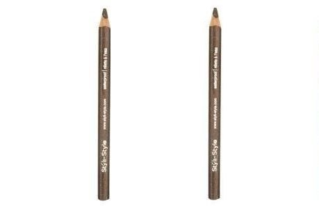 (Pack Of 2) – Styli-style Glitter Lid Liner, 902 Brown – 0.039 Oz/ 1.105g