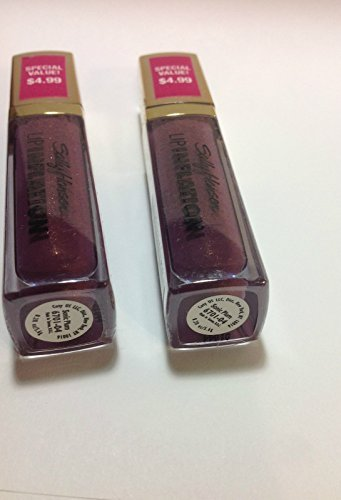 Pack Of 2sally Hansen Lip Inflation Plumping Treatment Sonic Plum Sealed Full Size 0 0