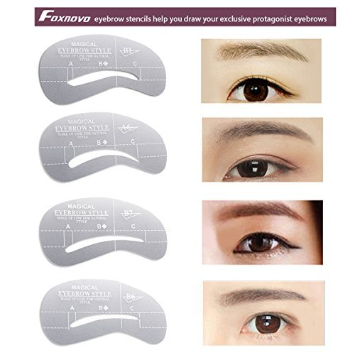 photo regarding Eyeliner Stencil Printable called Eyeliner stencil template