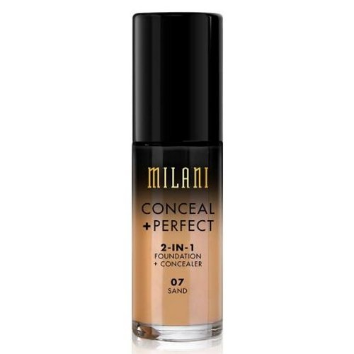 (3 Pack) MILANI Conceal + Perfect 2-In-1 Foundation + Concealer – Sand