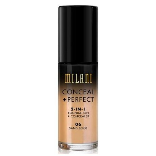 (3 Pack) MILANI Conceal + Perfect 2-In-1 Foundation + Concealer – Sand Beige