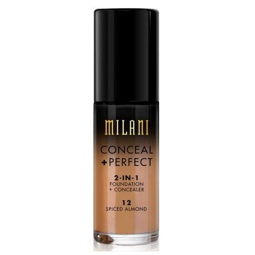 (3 Pack) MILANI Conceal + Perfect 2-In-1 Foundation + Concealer – Spiced Almond