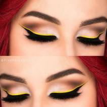 Yellow Eyeliner By PinkPerception