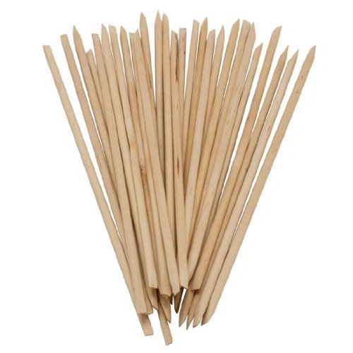 350buy 100 X Nail Art Orange Wood Stick Cuticle Pusher Remover
