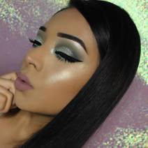 Cool tone and glitter by Vemakeup713