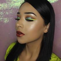 Colorful eyeliner by Vemakeup713