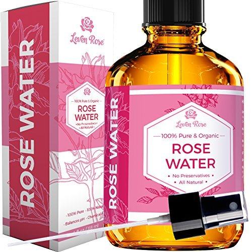 1 TRUSTED Rose Water 100 Organic Natural Moroccan Rosewater Chemical Free 118 Ml 0
