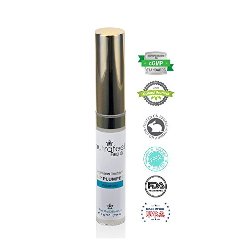 Ageless Instant Lip Plumper By Nutrafeel Beauty POTENT Lips BOOSTER Stimulates Collagen Hyaluronic Acid Expands CURVE VOLUME Delivers Long Lasting Succulence–Your Partner Will Love It 0 0
