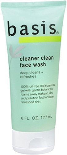 Basis Face Wash Cleaner Clean 6 Oz 0