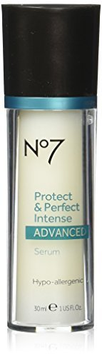 Boots No7 Protect & Perfect Intense Advanced Anti Aging Serum Bottle – 1 Oz