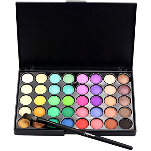 Eyeshadow Cream Makeup Palette + Brush Set