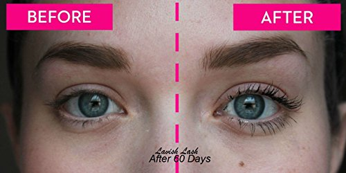 486da881132 Hairgenics Lavish Lash – Eyelash Growth Enhancer & Brow Serum for ...