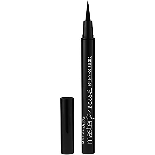 Maybelline EyeStudio Master Precise Liquid Eyeliner Ink Pen, Black [110], 1 Ea