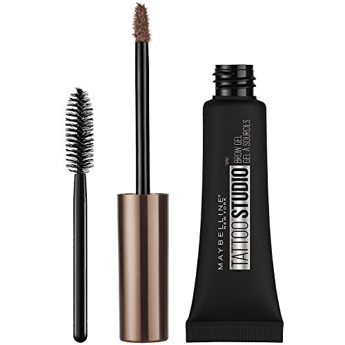 Maybelline TattooStudio Waterproof Eyebrow Gel, Blonde, 0.23 Fl. Oz.