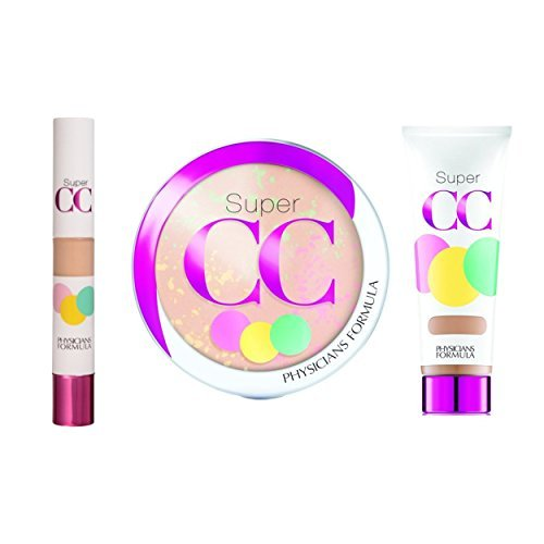 Physicians Formula Super CC Color Correction And Care Makeup Kit LightMedium 164 Ounce 0