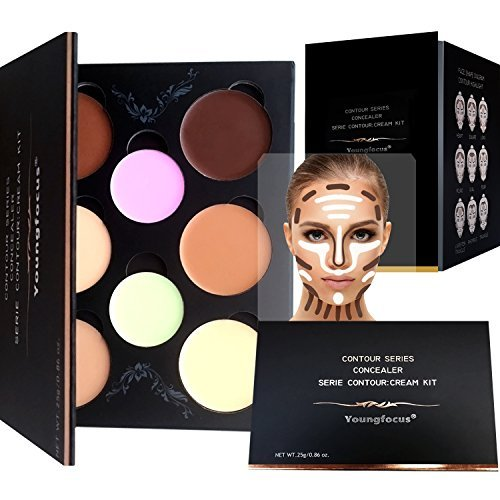 Cream contour makeup palette kit